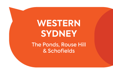 Cooee, Western Sydney. The ponds, rouse hill and schofields.