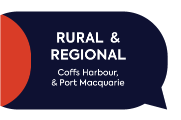 Rural and regional. Coffs harbour and port macquarie.